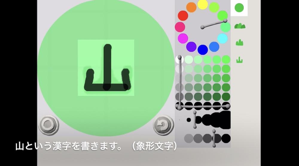 ビスケットで漢字の成り立ち5画像